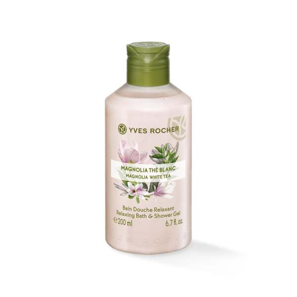 Relaxing Bath & Shower Gel - Magnolia White Tea Relaxing