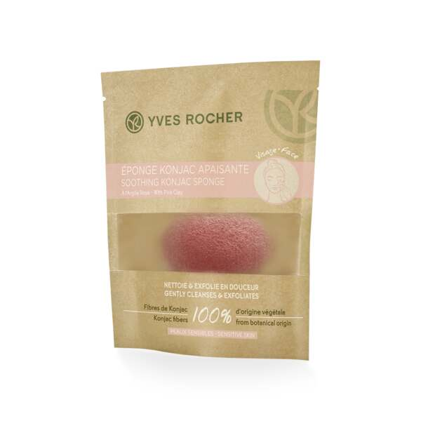 Soothing Konjac Sponge with Pink Clay 31a27ef78