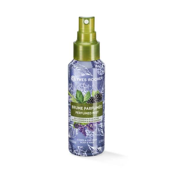 Lavandin Blackberry Perfumed Body and Hair Mist