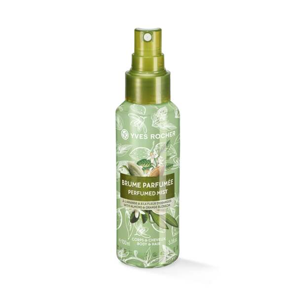 Almond Orange Blossom Perfumed Body and Hair Mist