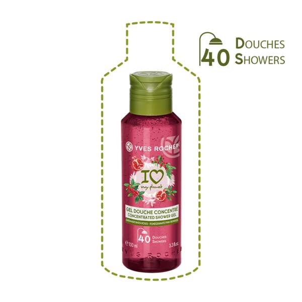 Concentrated Shower Gel Pomegranate Pink Berries