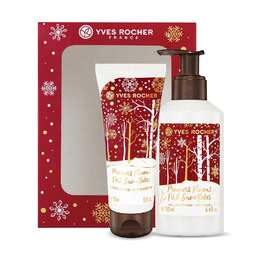 Hand Cream and Liquid Hand Soap Box Set - First Snowflakes, Holiday Collection, Gift ideas