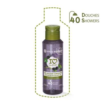 Concentrated Shower Gel Lavandin & Blackberry, For the Shower - Fruity Notes