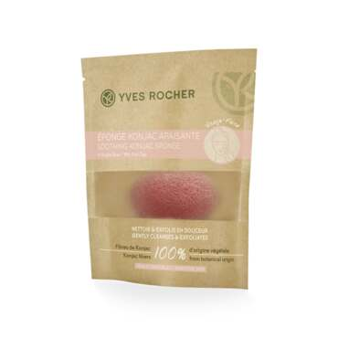 Soothing Konjac Sponge with Pink Clay