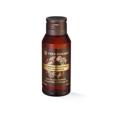 Hammam Bath & Shower Gel Rose Argan 50 ml - Travel Size, shower gel