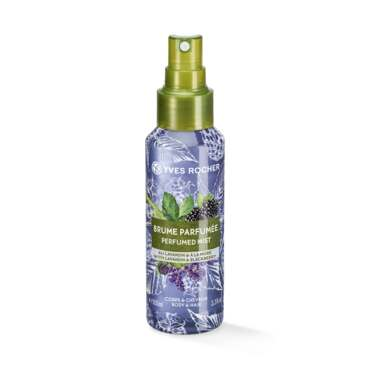 Perfumed Body and Hair Mist with Lavandin and Blackberry