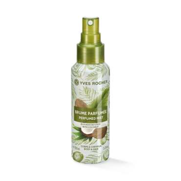 Coconut Perfumed Body and Hair Mist