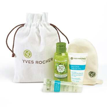 Lolë Kit - Lolë White Tour - Face care Hydra Végétal and Concentrated Shower Gel Olive Petitgrain Les Plaisirs Nature