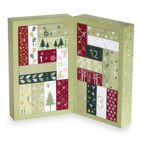 Beauty Advent Calendar - Yves Rocher, Holiday Collection, Gift ideas