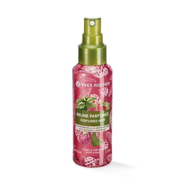 Raspberry Peppermint Perfumed Body and Hair Mist