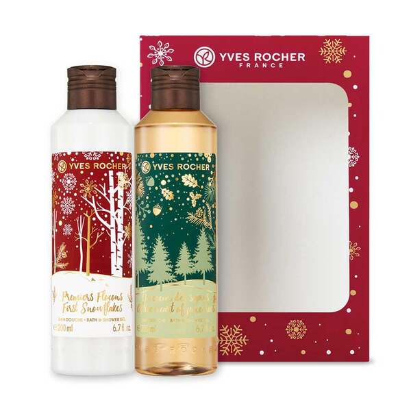Bath and Shower Gel Duo Box Set - Holiday Collection - Yves Rocher