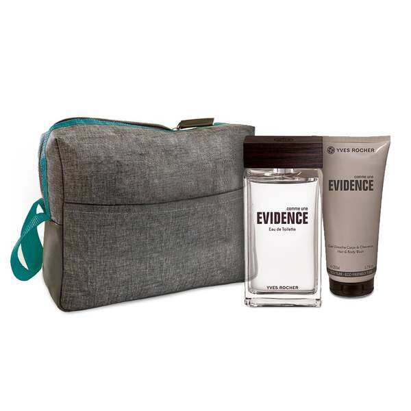 Mens Eau de Toilette and Shower Gel Set - Comme une Évidence Homme,Men Fragrance,Gift ideas