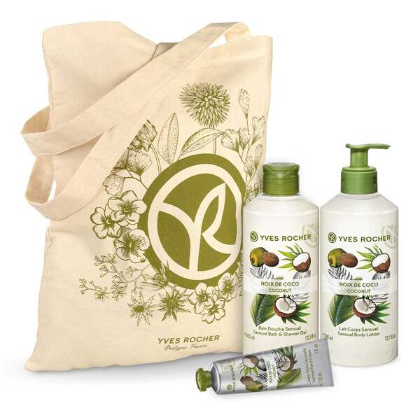 Sensual Coconut Body and Shower Set - 3 - Gift ideas