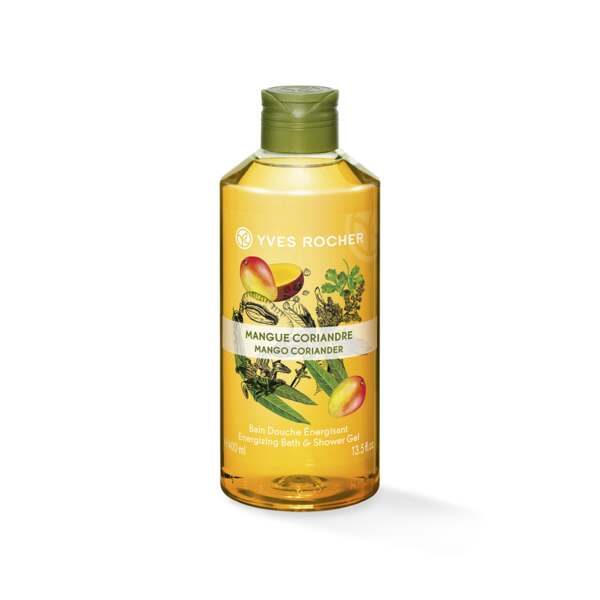 Energizing Bath and Shower Gel - Mango Coriander