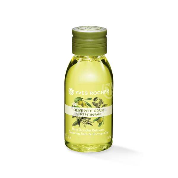 Relaxing Bath & Shower Gel - Olive Petitgrain - Travel Size