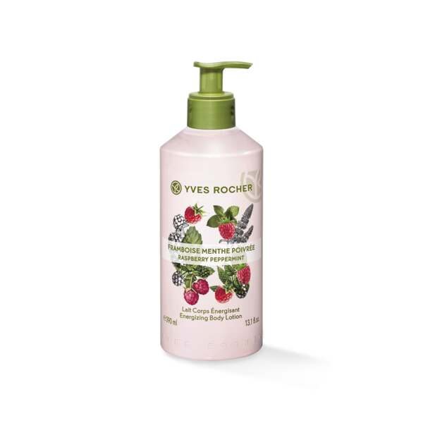 Energizing Body Lotion - Raspberry Peppermint