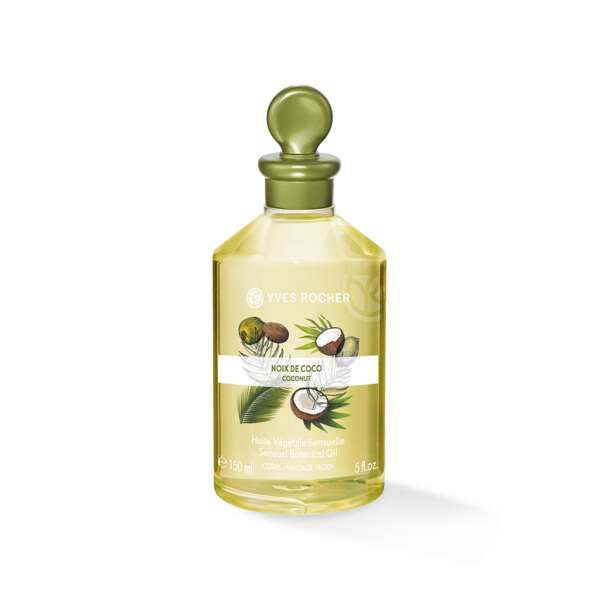 Sensual Botanical oil – Body & Massage - Coconut
