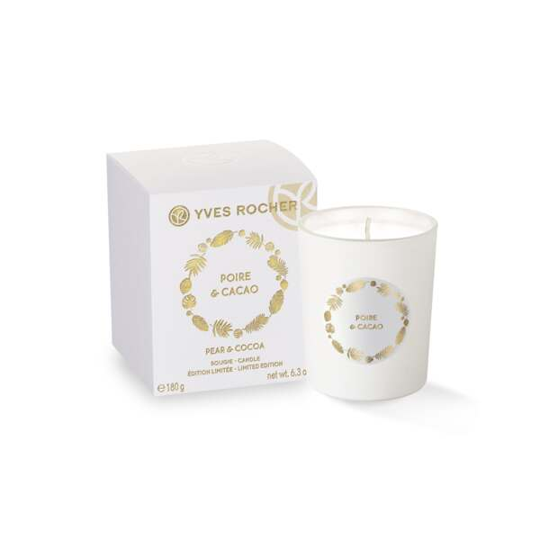 Pear & Cocoa Candle