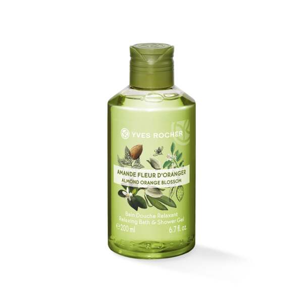 Relaxing Bath and Shower Gel - Almond Orange Blossom