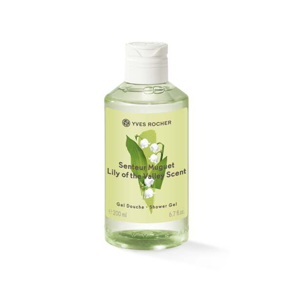 Lily of the Valley Scent Shower Gel, hygiene