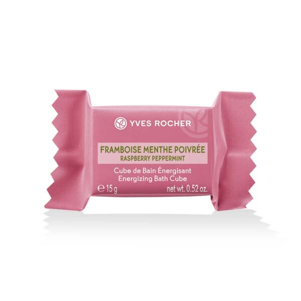 Energizing Bath Cube - Raspberry Peppermint