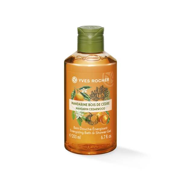 Energizing Bath & Shower Gel - Mandarin Cedar Wood