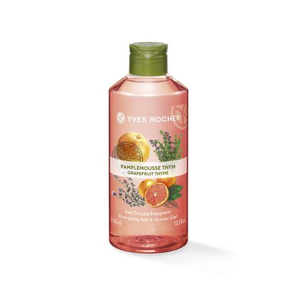 Energizing Bath & Shower Gel - Grapefruit Thym