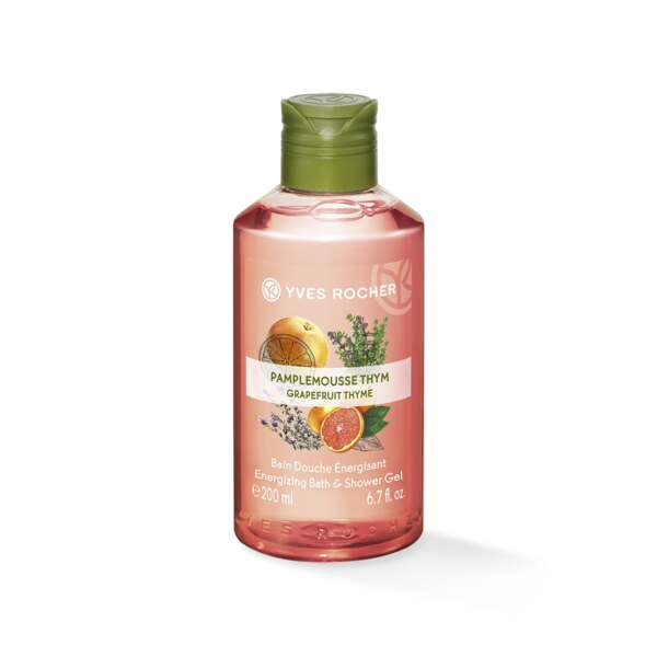 Energizing Bath and Shower Gel - Grapefruit Thym