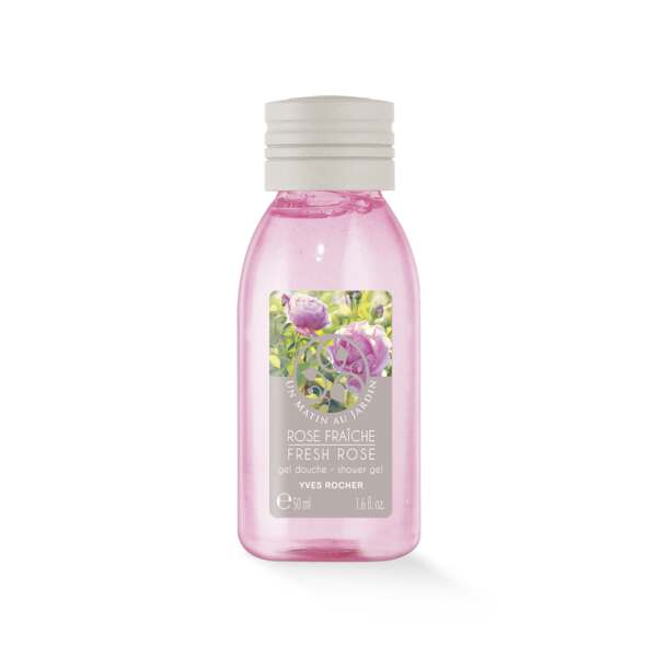 Fresh Rose Shower Gel - Travel Size
