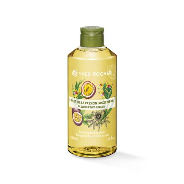 Energizing Bath & Shower Gel - Passion Fruit Ginger
