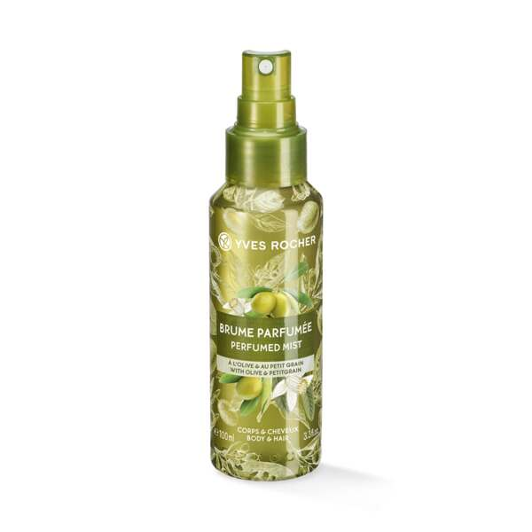 Perfumed Body and Hair Mist with Olive and Petitgrain