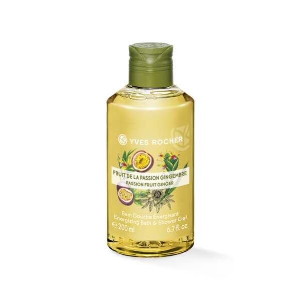 Energizing Bath and Shower Gel - Passion Fruit Ginger