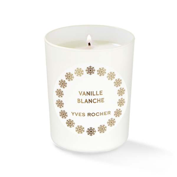 White Vanilla Candle