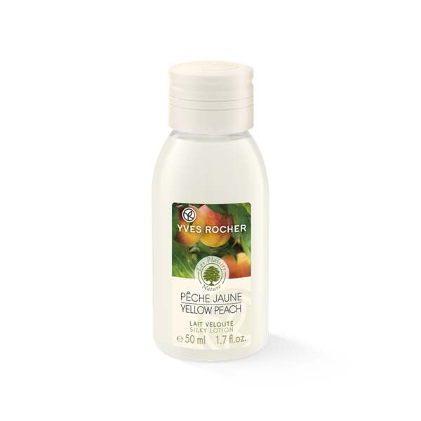 Yellow Peach Silky Body lotion - Travel Size