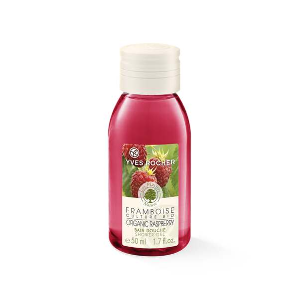 Organic Raspberry Shower Gel - Travel size