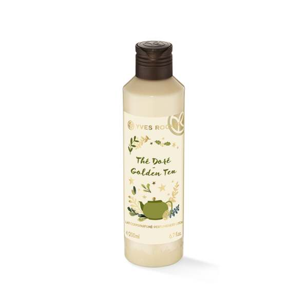 Golden tea perfumed body lotion