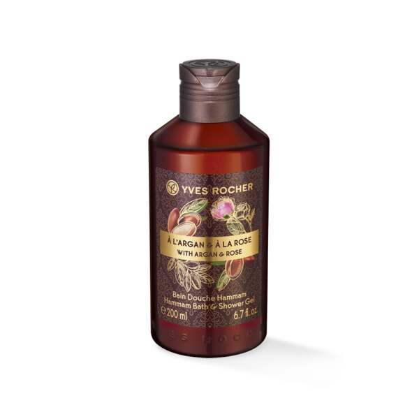 Argan Rose Hammam Bath and Shower Gel - 200ml