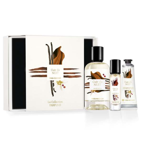 Cuir de Nuit Fragrance Gift Set, The Collection, Women Eau de Parfum, Gift ideas
