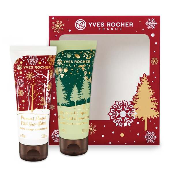 Hand Cream Duo Box Set - Holiday Collection - Yves Rocher