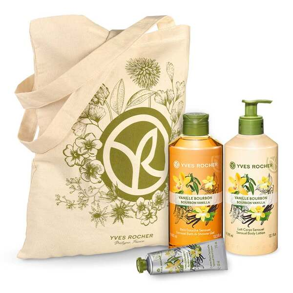 Sensual Vanilla Bourbon Body and Shower Set - 3 - Gift ideas