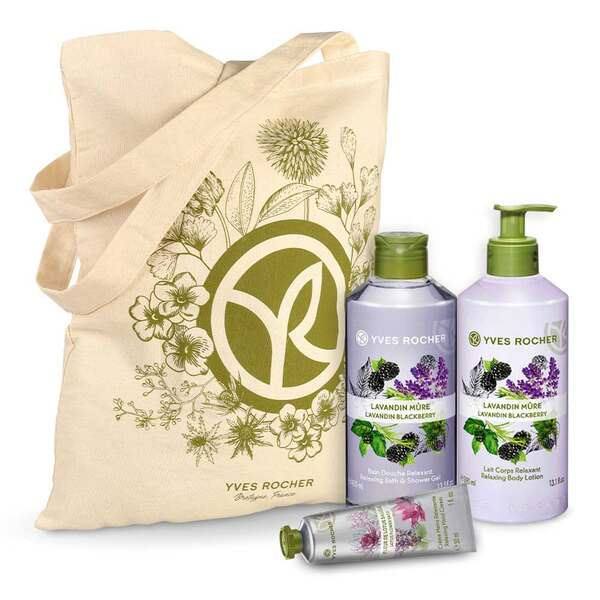 Relaxing Lavandin Blackberry Body and Shower Set - 3 - Gift ideas