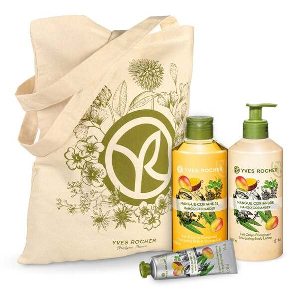Energizing Mango Coriander Body and Shower Set - 3 - Gift ideas