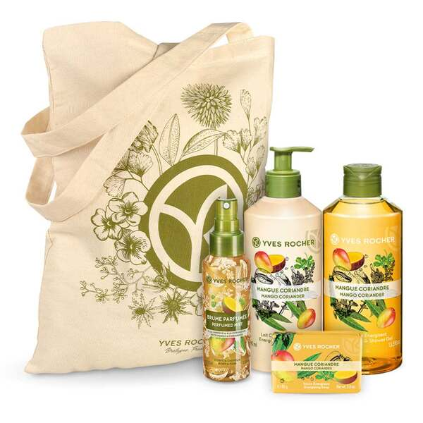 Energizing Mango Coriander Body and Shower Set - 4 - Gift ideas