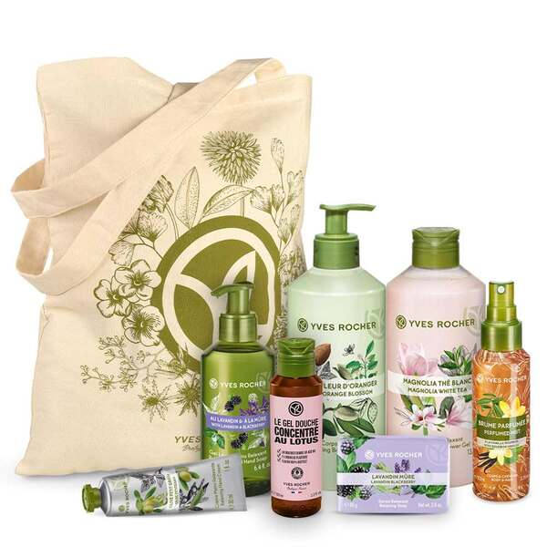 Floral Body and Shower Set - 7 - Gift ideas