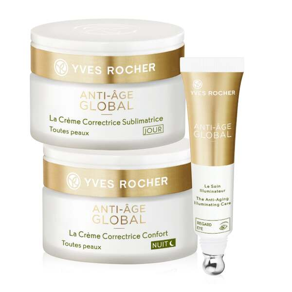 Anti-Age Global kit, anti-aging beauty routine