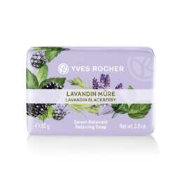 Yves Rocher Relaxing Soap - Lavandin BlackBerry