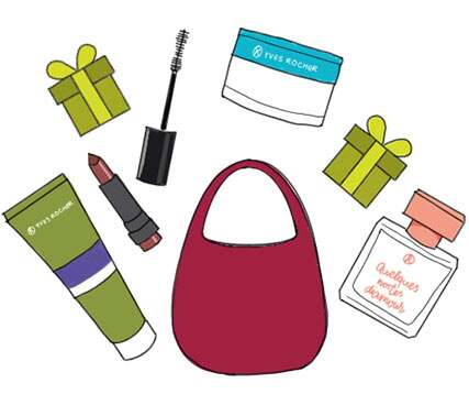 When you choose a product, the beauty expert can put it directly into your shopping cart